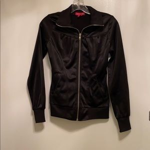 Madonna  h and m black track jacket size 4